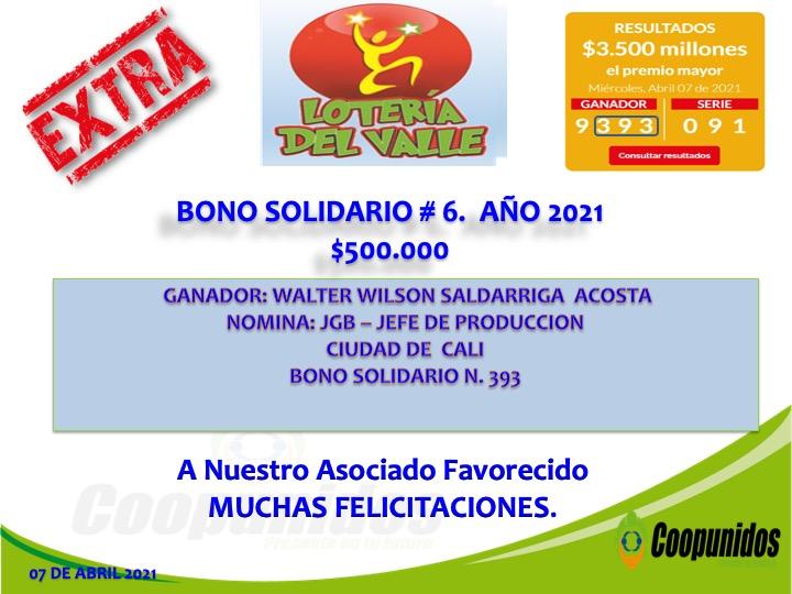 Bono solidario #6