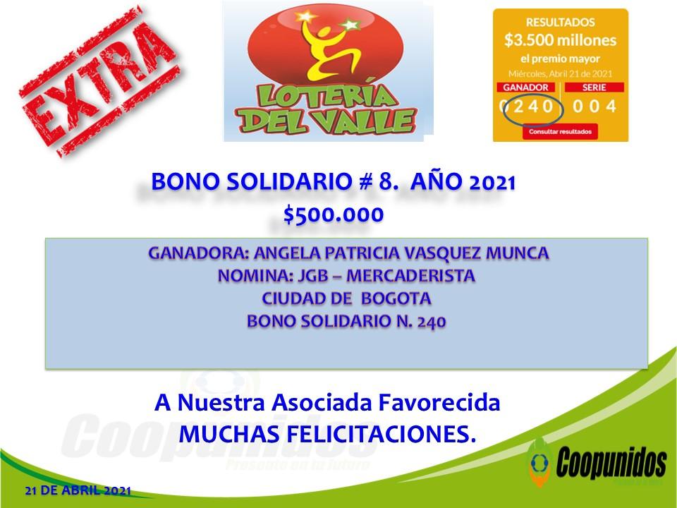Bono Solidario #8