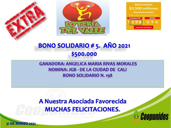 Bono solidario #5