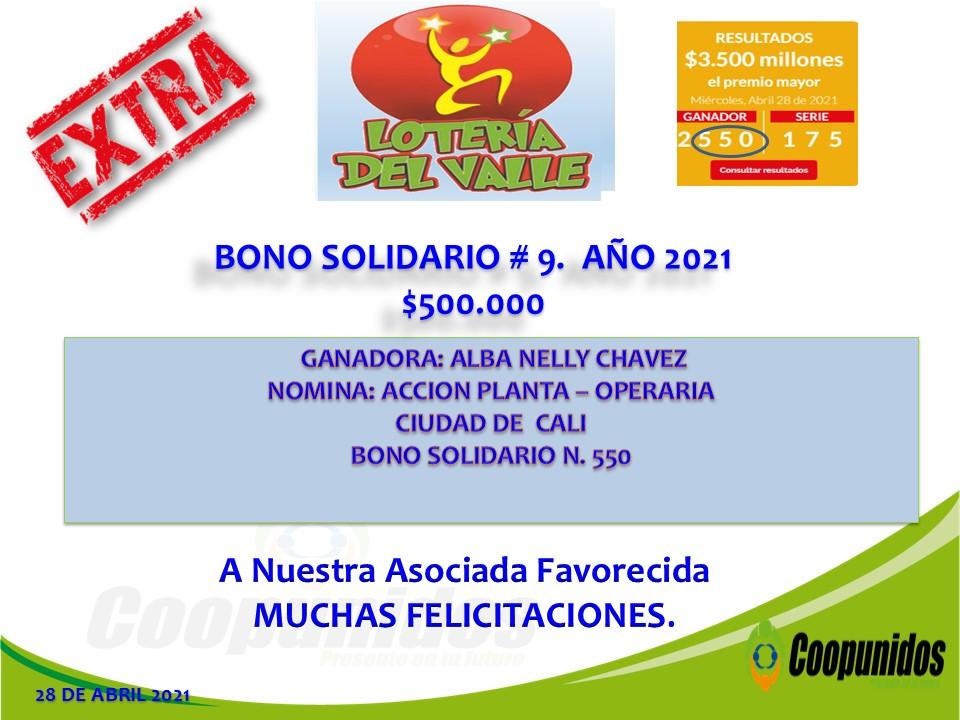 Bono solidario #9